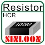 High Ohm Chip Resistor - HCR